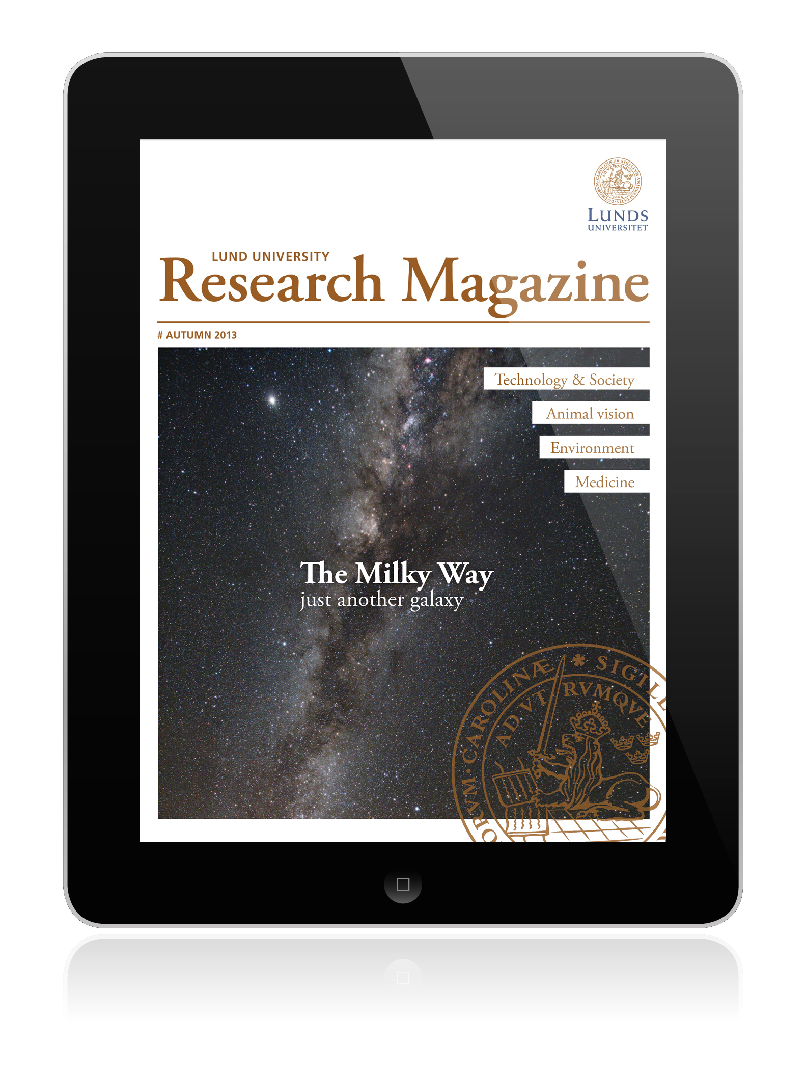 Lund Univ Research Magazine-made-on-magplus