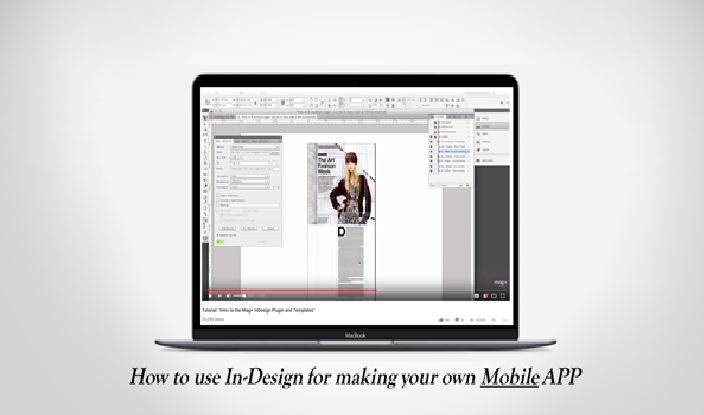 InDesign for making your own mobile app